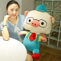 厂家直销创意可爱猪娃娃公仔毛绒玩具情侣猪婚庆抱枕生日礼物女生