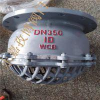 CF8不锈钢莲蓬头H42X-10P DN100 水泵底端底阀 H42X/W 升降式法兰底阀
