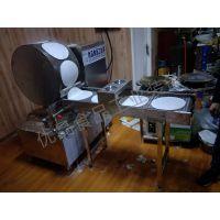 全自动单排烤鸭饼机 小型烤鸭饼机器 厂家直销
