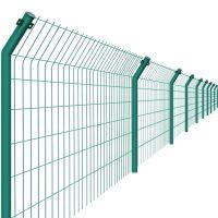淮阳金属围栏 声屏障 高速公路护栏网 优质双边丝护栏