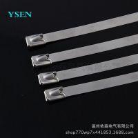YS品牌不锈钢扎带厂家直售 供应新疆耐高温201五金扎丝 10*800MM
