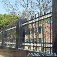 厂家 深圳小区别墅围墙护栏 社区围栏图片 学校园林绿化栅栏