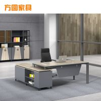 简约职员办公桌现代4人位电脑桌椅组合6人位工作位带柜子批发定制