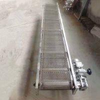 金属网带输送机环保 提升爬坡输送