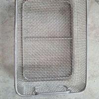 奥科生产医疗器械专用消毒不锈钢网筐 工业用酸洗零部件清洗网筐 量大从优