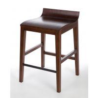 悦方北欧实木吧椅 复古高脚椅子 休闲吧台桌酒吧椅 白腊木高凳吧台椅