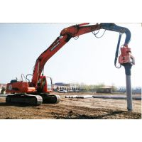 嘉定区拉森钢板桩租赁打拔.DZP150打桩锤打拔钢板桩拉森桩综合管沟支撑安装制作施工