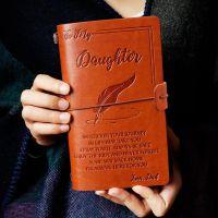 旅行手帐本笔记事本子定制绑带笔记本创意铜扣定做