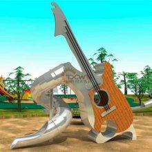不锈钢滑梯儿童乐园公园广场游乐设备木质组合滑梯攀爬架旅游景区幼儿园非标定制可加工定做