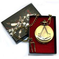刺客的信条铊表康纳随身合金怀表古铜色 动漫周边饰品康纳护身符