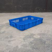 厂家直销小塑料筐周转框子 塑料浅筐超市货品摆放防潮筐