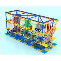 淘气堡儿童乐园拓展器材 大型室内儿童游乐园设备 攀岩训练项目 厂家直销定做