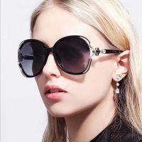 新款时尚大框镶钻太阳镜3291 潮流女士太阳眼镜欧美百搭墨镜