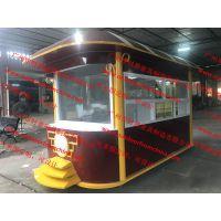 哪里能定做园区餐饮大型花车移动商品售卖亭售货车的?