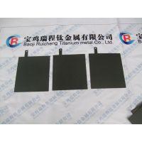 厂家供应消毒水机用钌铱涂层钛阳极、铂金涂层钛阳极