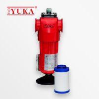 YUKA宏日嘉压缩空气精密过滤器YF010压缩空气除油除尘除杂质