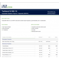 Terblend N NM-19 生产汽车开关总成的 ABS/PA不需涂装亚光表面