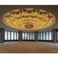 厂家供应酒店工程玻璃LED灯