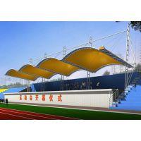 PVDF张拉膜 PVC建筑膜材 刀刮涂层布 高强度景观棚 软体膜材