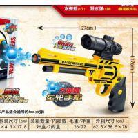 新款气压左轮水弹枪射击软弹枪儿童玩具手枪军事模型厂家直销
