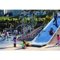 户外不锈钢滑梯大型攀爬网幼儿园滑梯公园滑梯攀爬组合滑梯游乐设备