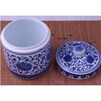 千火陶瓷 景德镇厂家定做装食品的陶瓷罐子