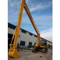 供应22米-26米挖掘机拆楼臂,三段式拆楼臂配液压剪拆楼专用