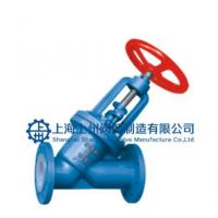 上海阀门厂直销 截止阀J45直流式衬氟塑料截止阀 上州阀门选型