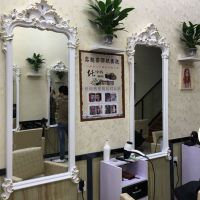 欧式浴室镜壁挂式美式卫生间镜子挂墙镜装饰镜化妆镜厂家直销台镜