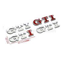 大众GTI车贴宝来速腾高尔夫6大众外饰改装车标车贴尾贴侧贴装饰贴