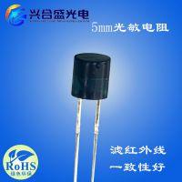 插件5MM光敏二极管(抗红外线)安防监控