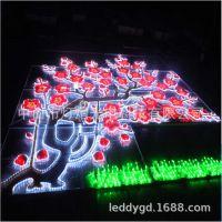 厂家定制墙体亮化装饰灯 异形图案灯 万达广场亮化 灯光节造型灯