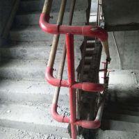 河北厂家生产电梯防护门 楼梯扶手