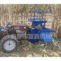 手扶车带动玉米收割机 品牌玉米收割机型号