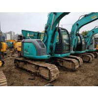 神钢二手挖掘机SK135SR中型进口9成新挖土机