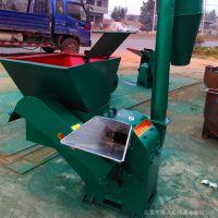 高产量牛羊饲料粉碎机 玉米秸秆自动进料粉碎机