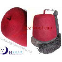 摩洛哥羊毛菲斯帽Morocco wool Fez cap /羊毛帽wool cap