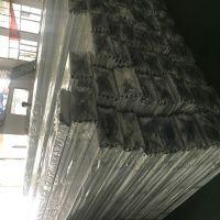 德普龙厂家 油站网棚条形铝扣板吊顶 亚光白半成品铝扣板