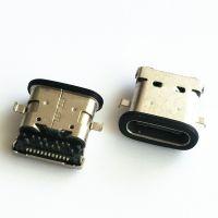 USB 3.1 C TYPE 防水母座 24PIN 沉板0.8MM 防水连接器-好上美科技