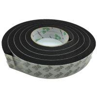 厂家直销定制EVA单面黑色泡棉胶带 防震密封保温隔音海绵泡沫胶带