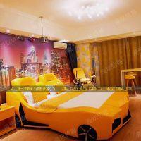 上海漫炫情趣家具定做夫妻震动床电动情趣床主题汽车床酒店公寓情侣水床
