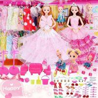 真眼美瞳芭比娃娃换装洋娃娃女孩过家家儿童玩具套装儿童礼物礼盒