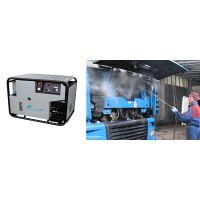 HAWKJ高压蒸汽清洗机+抽吸装置、8M+抽吸软管、、高压喷枪、蒸汽喷嘴