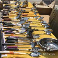 地摊热卖产品不锈钢餐具 5元模式不锈钢厨具 厨房用品厂家批发