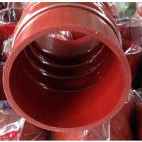 厂家定做汽车硅胶管 汽车夹布硅胶管增压器中冷器胶管