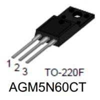 芯控源AGM5N60F高压MOS管