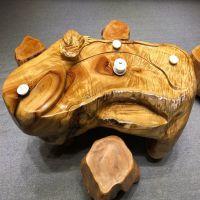 实木工艺 实木根雕 实木摆件
