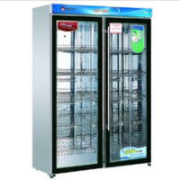 康庭YTD1200A-KT1绿钻消毒柜双玻璃门消毒柜 餐具碗筷保洁柜 河北专供