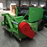 全自动青储饲料玉米秸秆粉碎打捆机 牧草黄竹草青储收割机回收机