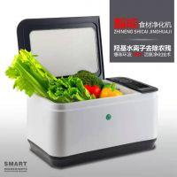 超声波洗菜机全自动羟基水离子果蔬清洗机多功能食品解毒净化机